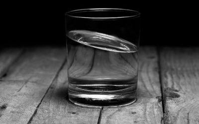 Mein Glas ist halbvoll und deines?