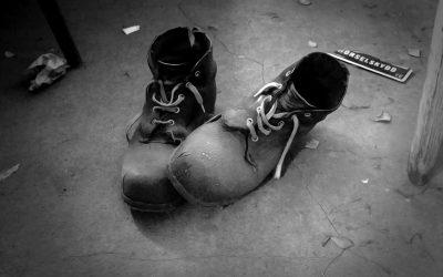 Deine alten Schuhe sprechen Bände