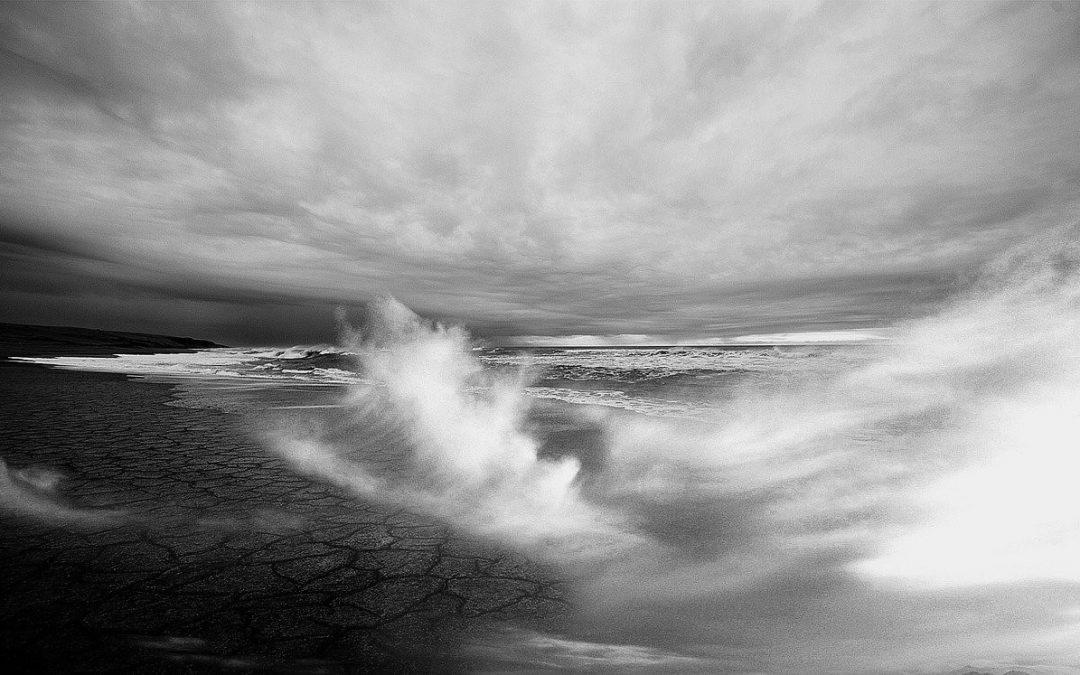 Das Leben ist wie ein Sturm an der Nordsee